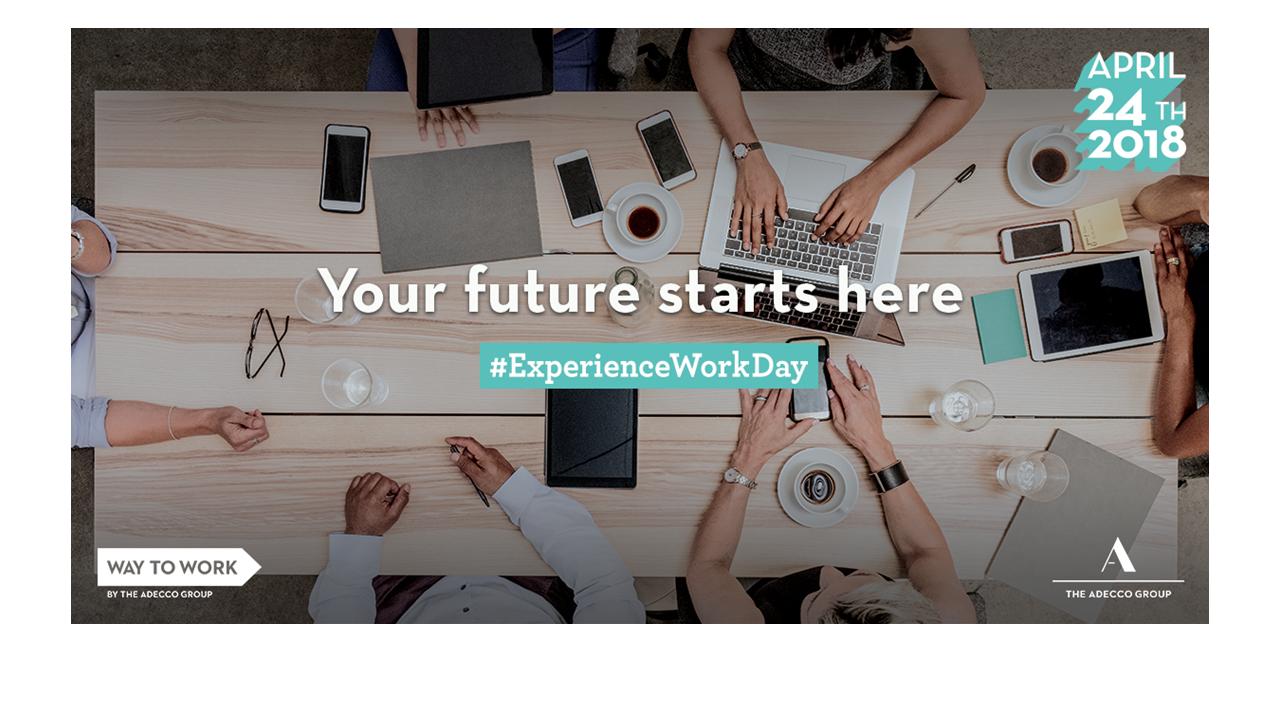 #ExperienceWorkDay 2018 per ispirare e orientare giovani studenti